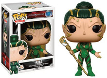 Power Rangers Funko POP! Movies Rita Vinyl Figure #401+ Pop Protector