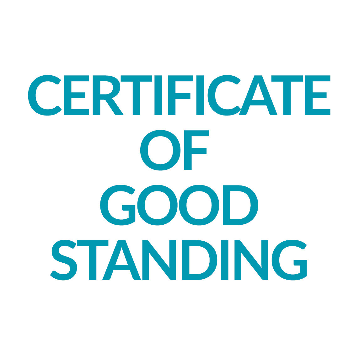 Wyoming Certificate Of Good Standing Online Registered