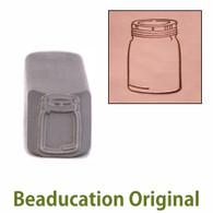 Mason Jar Design Stamp Medium 8x11.5mm