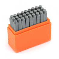 IMPRESSART - Basic Economy Bridgette Uppercase Metal Stamp Set  3mm