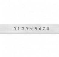Basic Bridgette Economy Numbers Metal Stamp - 3mm - ImpressArt