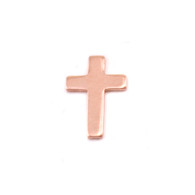 Copper Solderable Accent  - Mini Cross 24g
