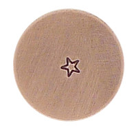 The Urban Beader - Outline Star Design Stamp - 1.5mm