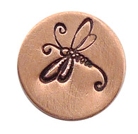 The Urban Beader - Dragonfly Design Stamp - 6mm