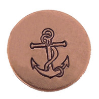 The Urban Beader - Anchor Design Stamp - 6mm
