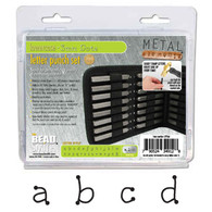 Beadsmith - Dots Lowercase Metal Stamp Set 3mm