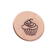 The Urban Beader - Cupcake Design Stamp - 5mm
