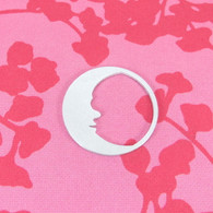 1.5mm Aluminium Moon Washer Stamping Tag Blank