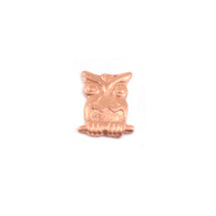 Copper Solderable Accent  - Owl 24g