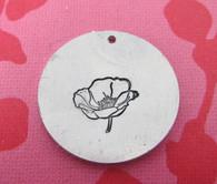 Mr Poppy Metal Design Stamp - 10mm