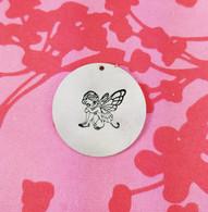Fairy Metal Design Stamp - 13mm