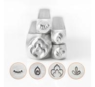 IMPRESSART - Henna Mandala Metal Stamp Set - 9.5mm