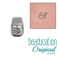 Beaducation Small Ampersand Design Stamp 3.5mm