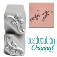 Spiral Sprigs 1 & 2 Metal Design Stamp - 14x6.3 Beaducation