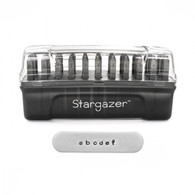 Stargazer Signature Lowercase Metal Stamp Set  2mm