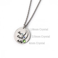 Crystal Setter Kit with Birthstone Crystals - 3 Set