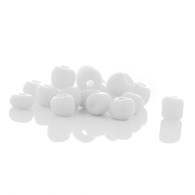White - 15g Ceramic Glass Seed Beads Size 3mm 8/0