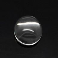 12mm Round Clear Glass Cabochon Dome