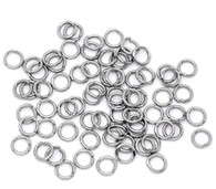 Stainless Steel Jump Rings 100pcs