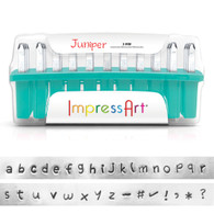 IMPRESSART - Juniper Lowercase Metal Stamp Set 3mm