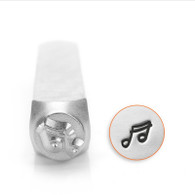 IMPRESSART - Musical Note Metal Stamp - 6mm