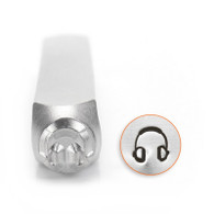 IMPRESSART - Headphones Metal Stamp - 6mm