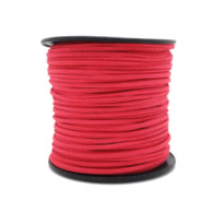 Faux Suede Cord 3x1.5mm - Dark Pink