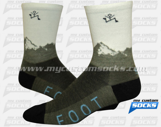 Custom Yale Socks
