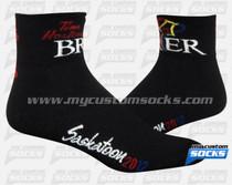 Custom Tim Hortons Black Socks