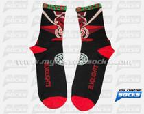 Custom Socks: BLVDLIGHTS
