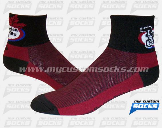 Custom Socks: Caledon Hills Cycling