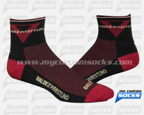 Custom Valdez Wrestling Socks