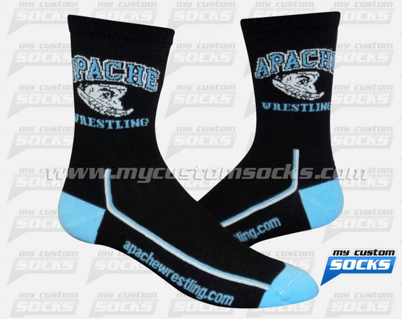 Custom Socks: Apache Wrestling