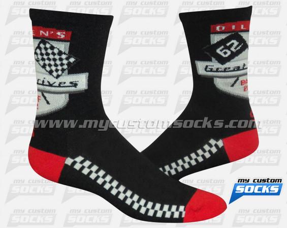 Custom Socks: Canadian Oilmen's Association