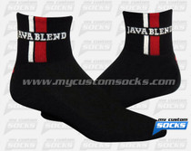 Custom Java Blend Coffee Roasters Socks