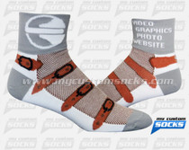 Custom Ballistic Arts Media Studios Inc. Socks