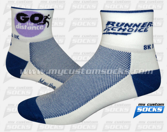 Custom Runners Choice London Socks