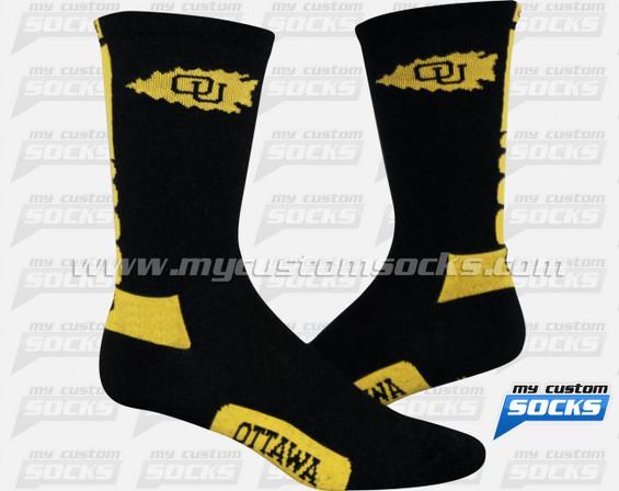 Custom Ottawa Volleyball  Socks