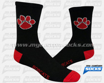 Custom Grand Blanc Football Team Socks