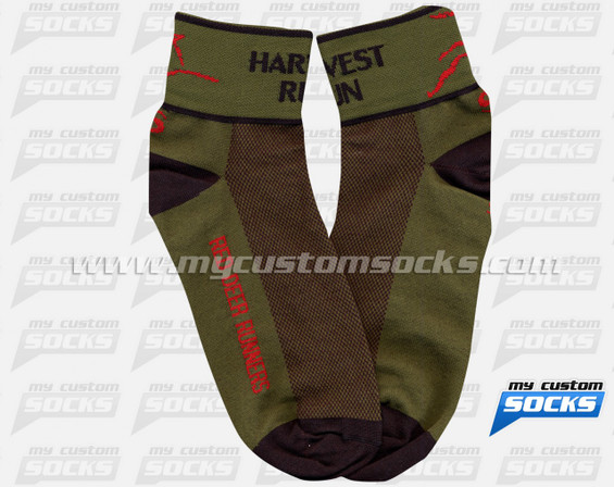 Custom Harvest RUN Socks