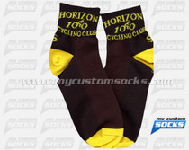 Custom Horizon 100 Cycling Club Socks