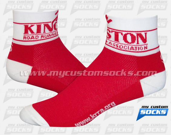 Custom Kingston Road Runners Association Socks