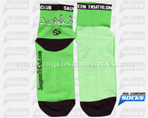 Custom Saugeen Triathlon Club Socks