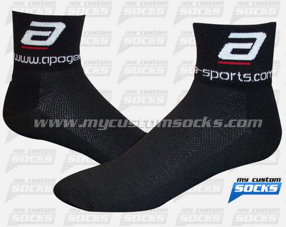 Custom Apogee - Black Socks