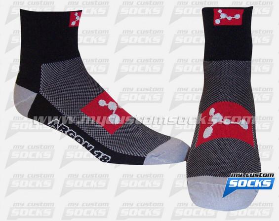 Custom Socks: Argon 18 (Black)