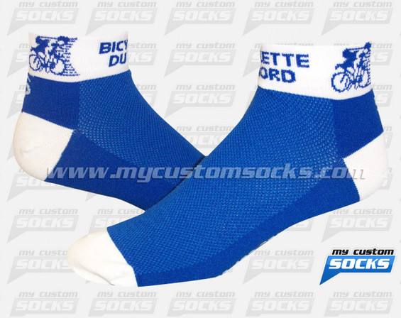 Custom Bicyclette du Nord Socks