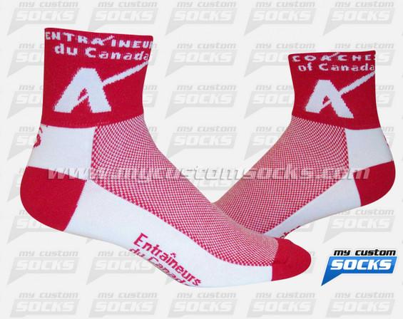 Custom Socks: Coaches of Canada