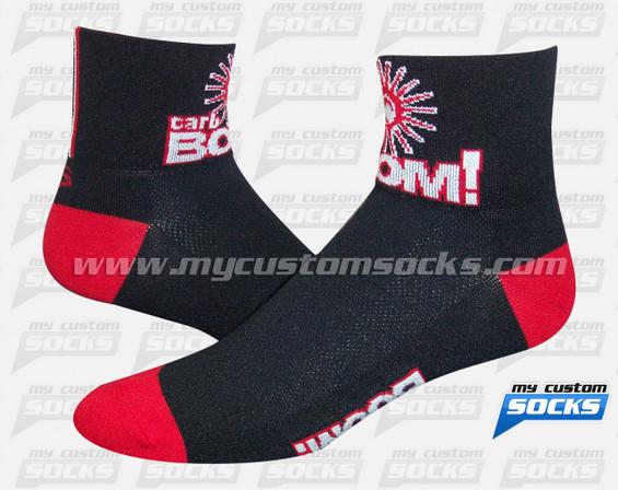 Custom Socks: Carb BOOM!