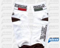 Custom Socks: Ciclo Werks White (2)