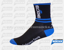 Custom EDGE Sports Nutrition Black Socks
